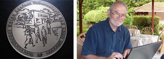 Union Medal awarded to Phil Hopewell, MD